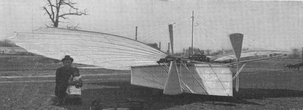 Whitehead's flying machine